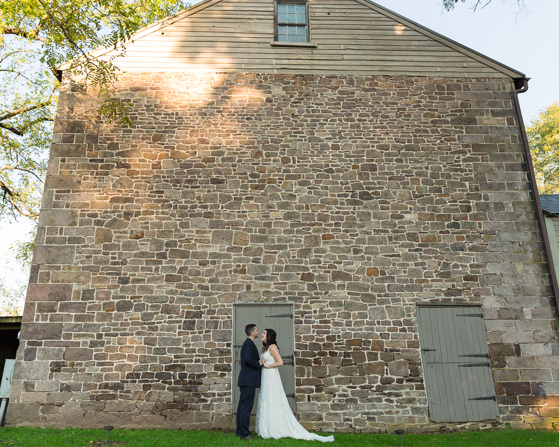 Micro wedding at Woolverton Inn, Stockton, NJ