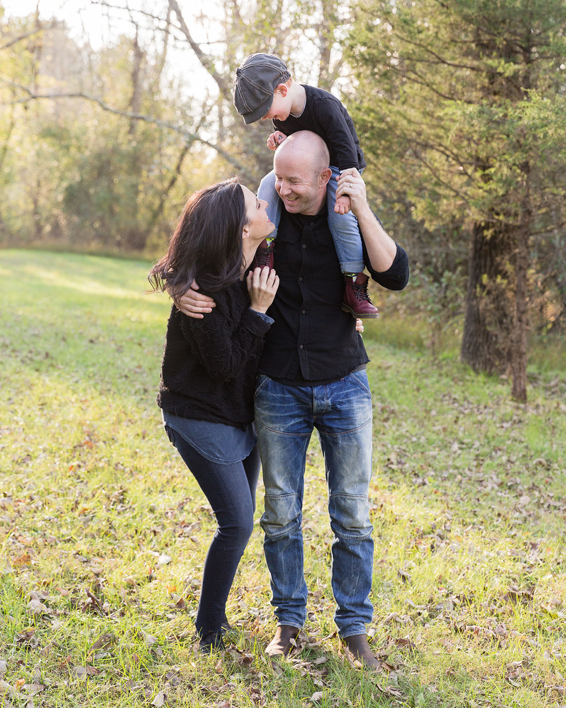 Modern family photography in New Jersey