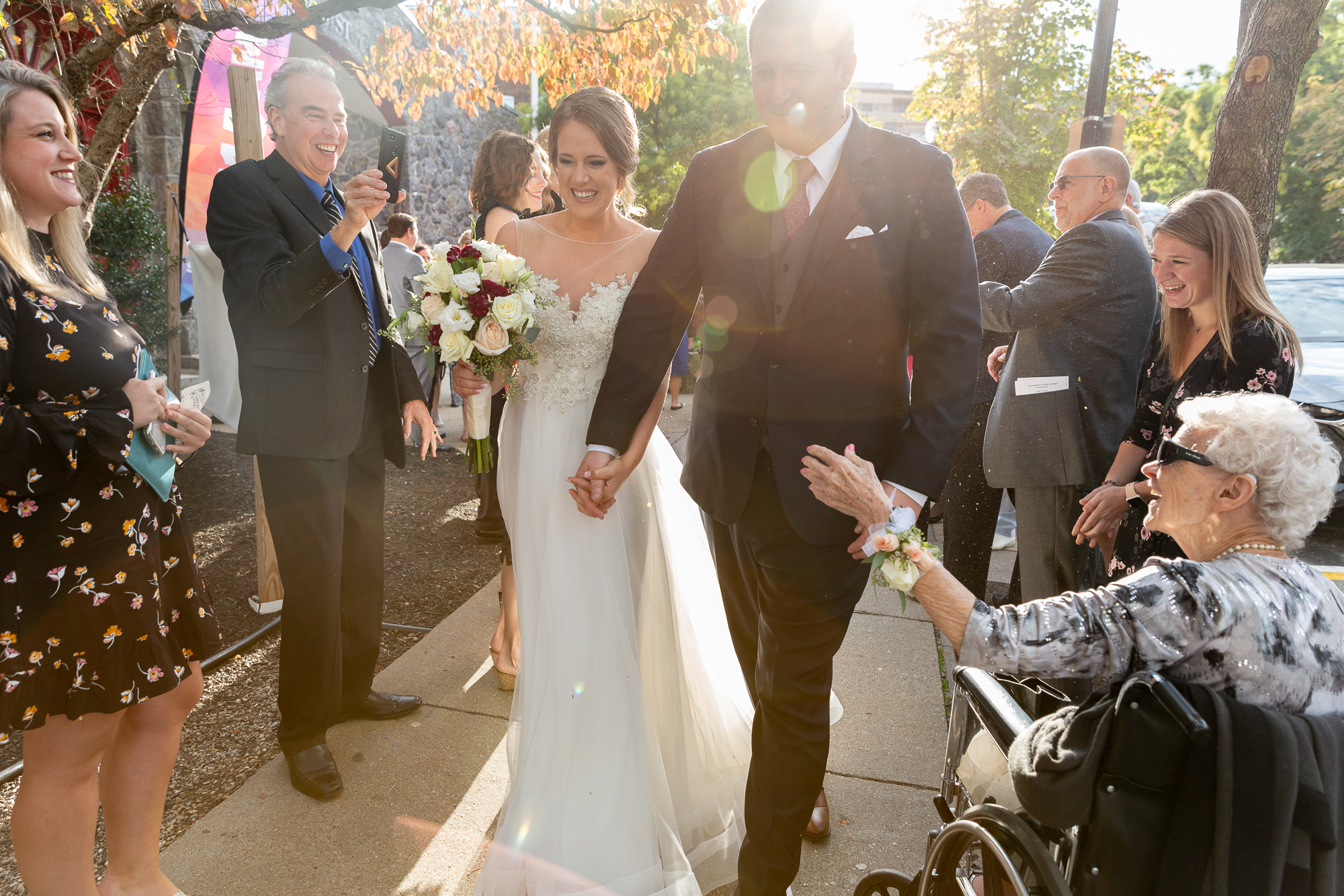 Classic wedding at the Morris Museum, Morristown, NJ