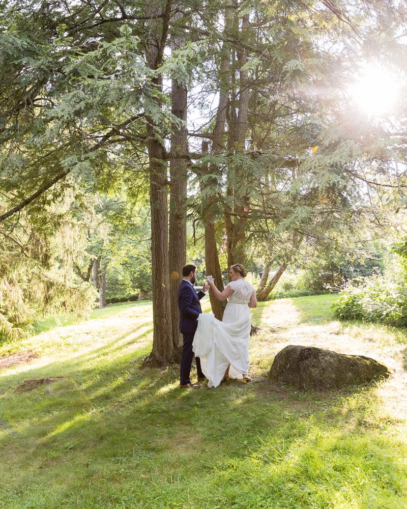 Elegant wedding at HollyHedge Estate in New Hope, PA