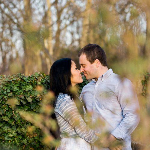 Engagement photography in Basking Ridge, NJ